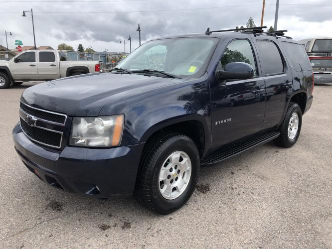 2007 Blue Chevrolet Tahoe LT (1GNFK13057J) with an 5.3L V8 engine, Automatic transmission, located at 100 S Russell St., Missoula, MT, 59801, (406) 721-7467, 46.870090, -114.018066 - Photo #0