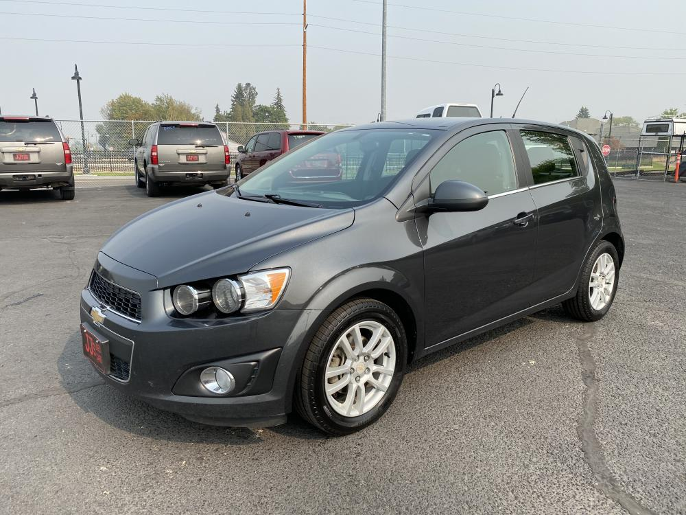 2016 Gray Chevrolet Sonic LT (1G1JC6SH3G4) with an 1.8L engine, Automatic transmission, located at 100 S Russell St., Missoula, MT, 59801, (406) 721-7467, 46.870090, -114.018066 - Photo #0