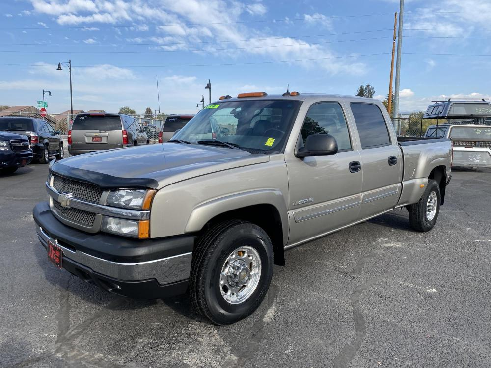 2003 Beige Chevrolet Silverado 1500HD LT (1GCGK13U53F) with an 6.0L V8 engine, Automatic transmission, located at 100 S Russell St., Missoula, MT, 59801, (406) 721-7467, 46.870090, -114.018066 - Photo #0