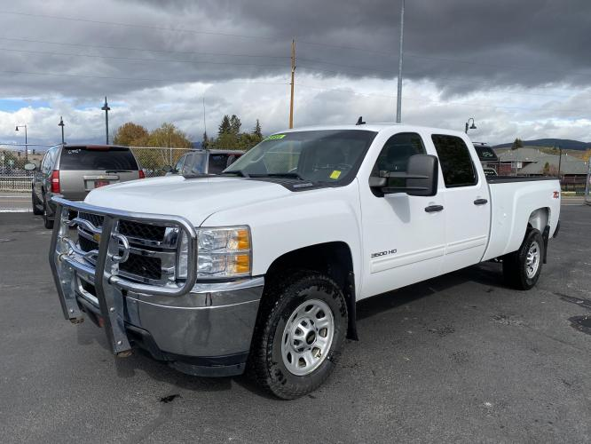 2014 Chevrolet Silverado 3500HD Crew Cab Long Box 4x4 DIESEL