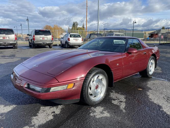 1993 Chevrolet Corvette (1G1YY33P6P5) with an 5.7L V8 engine, Automatic transmission, located at 100 S Russell St., Missoula, MT, 59801, (406) 721-7467, 46.870090, -114.018066 - Photo #0