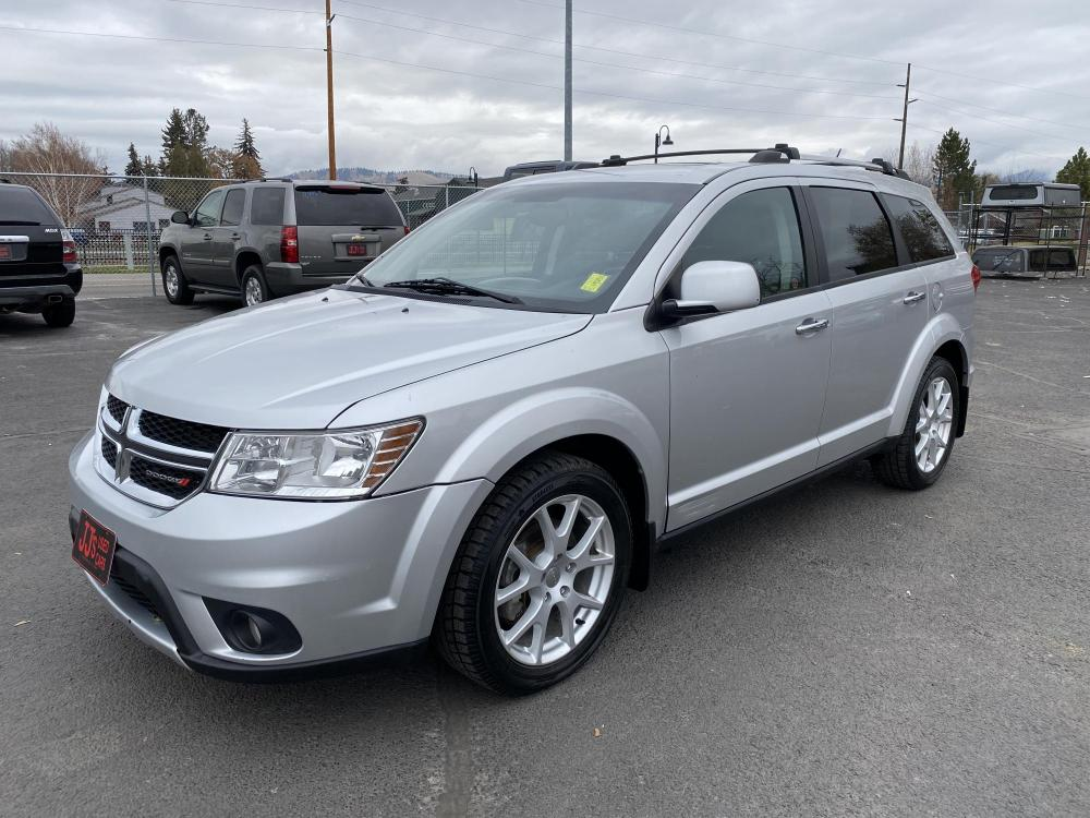 2013 Silver Dodge Journey R/T (3C4PDDFG3DT) with an 3.6L engine, Automatic transmission, located at 100 S Russell St., Missoula, MT, 59801, (406) 721-7467, 46.870090, -114.018066 - Photo #0