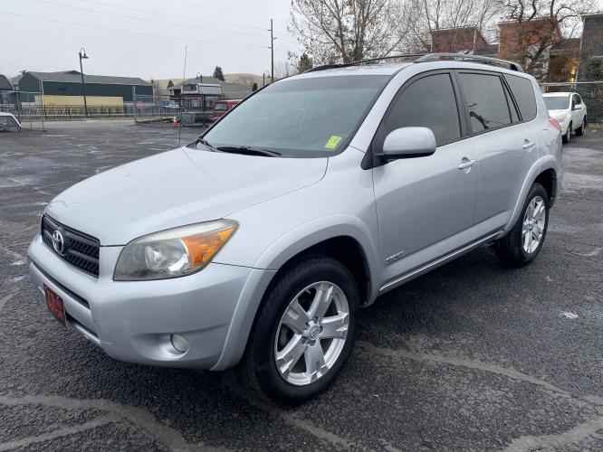 2006 Silver Toyota Rav 4 Sport (JTMBD32V266) with an 2.4L engine, Automatic transmission, located at 100 S Russell St., Missoula, MT, 59801, (406) 721-7467, 46.870090, -114.018066 - Photo #0
