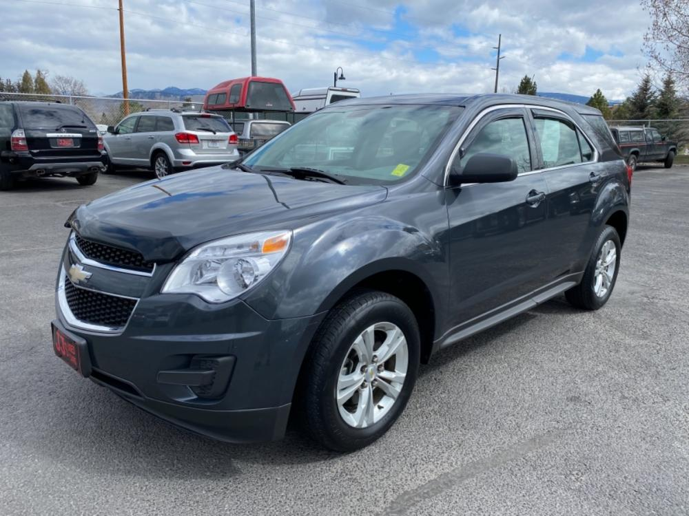 2010 Gray Chevrolet Equinox LS (2CNALBEWXA6) with an 2.4L engine, Automatic transmission, located at 100 S Russell St., Missoula, MT, 59801, (406) 721-7467, 46.870090, -114.018066 - Photo #0