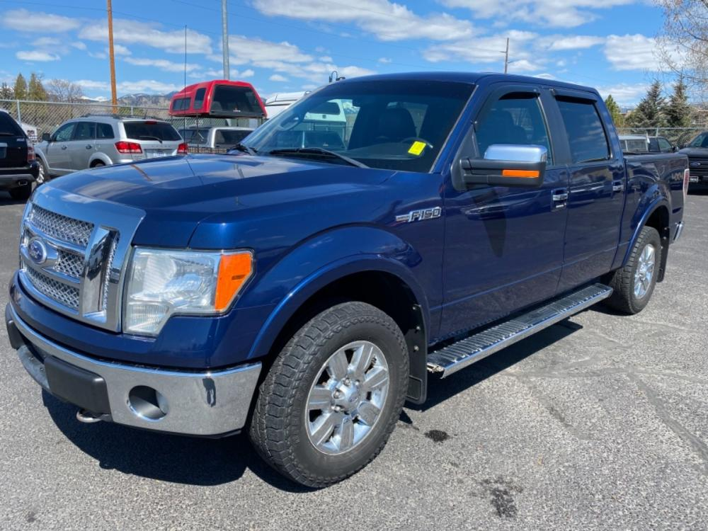 2011 Blue Ford F-150 Lariat (1FTFW1EF3BF) with an 5.0L V8 engine, Automatic transmission, located at 100 S Russell St., Missoula, MT, 59801, (406) 721-7467, 46.870090, -114.018066 - Photo #0