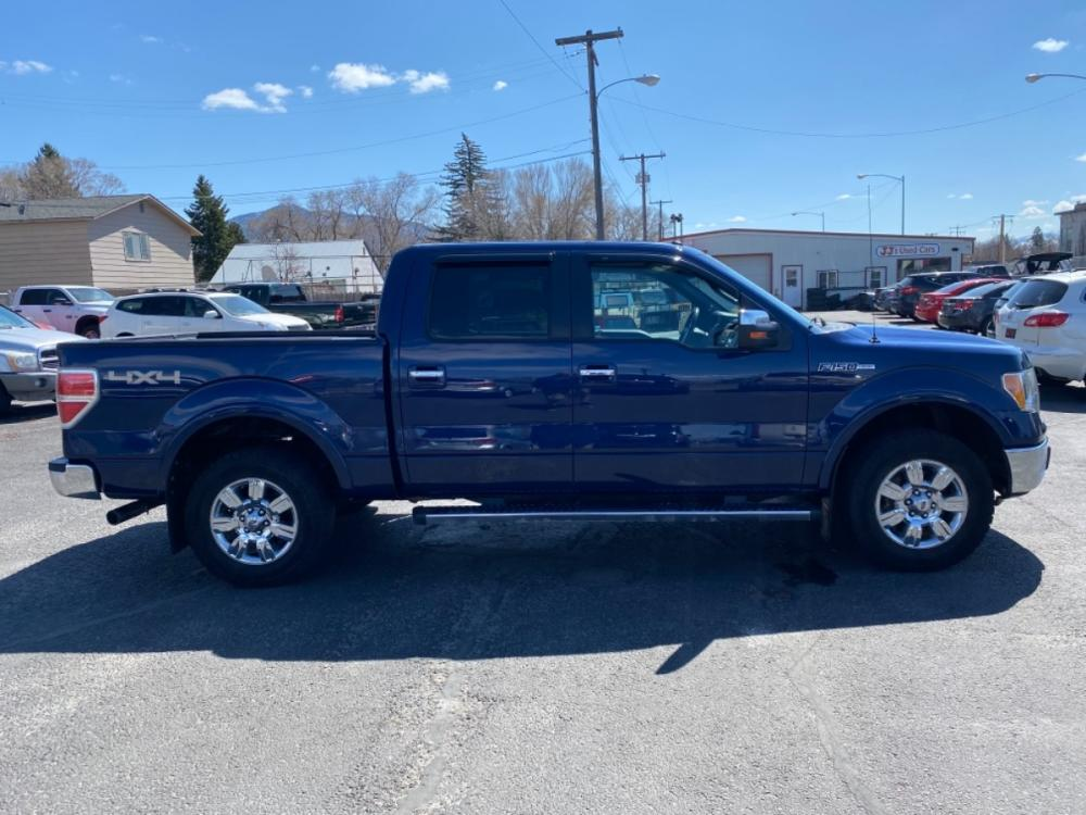 2011 Blue Ford F-150 Lariat (1FTFW1EF3BF) with an 5.0L V8 engine, Automatic transmission, located at 100 S Russell St., Missoula, MT, 59801, (406) 721-7467, 46.870090, -114.018066 - Photo #2
